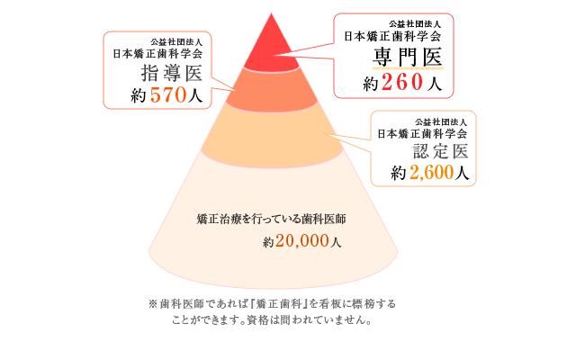日本矯正歯科学会の認定医について
